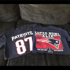 Two Patriots Ts